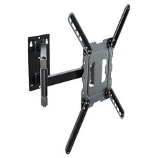 "Slim Swivel Tilt Wall Mount for 26""-50"" LCD/LED Plasma TV"