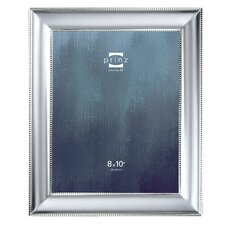 silhouette matte silverplated picture frame