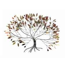 Wanddekoration Autumn Leaves Tree