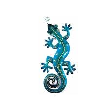 Wanddekoration Gecko