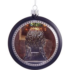 "3.15"" Game of Thrones Disc Ornament"