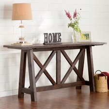 Vineyard Console Table by August Grove