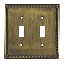 Double Toggle Switch Plate
