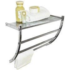 Wall Mounted Shelf / Towel Rail