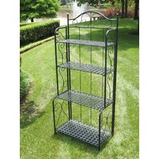 Snowberry 4 Tier Indoor/Outdoor Baker's Rack