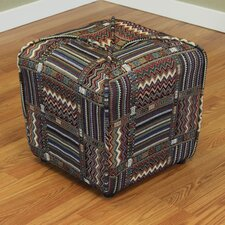 Comstock Upholstered Ottoman by World Menagerie