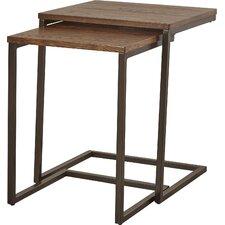 Eudora 2 Piece Nesting Tables (Set of 2) by Mercury Row