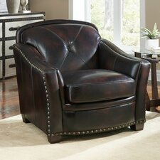 Lucinda Club Chair by Lazzaro Leather