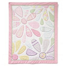 Crazy Daisy All Cotton Baby Quilt
