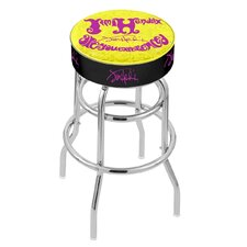 Jimi Hendrix 30 Swivel Bar Stool with Cushion by Holland Bar Stool