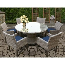 Oasis 7 Piece Dining Set with Cushions