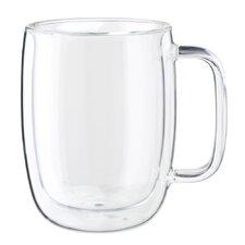 Sorrento Plus Double-Wall Glass Latte Mug (Set of 2)