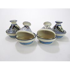 Tibarine Stoneware Tagine (Set of 4)