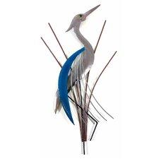 Wanddekoration Abstract Heron