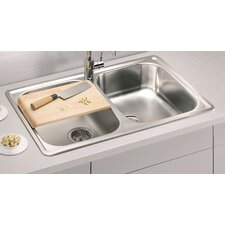 Alveus Line 90  79 cm x 50 cm Kitchen Sink
