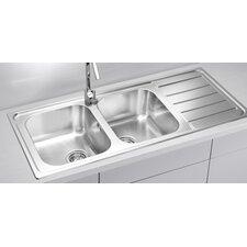 Alveus Line 100  116 cm x 50 cm Kitchen Sink