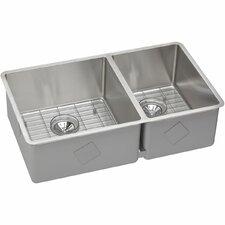 """Crosstown 31.5"""" x 18.5"""" Undermount Kitchen Sink"""