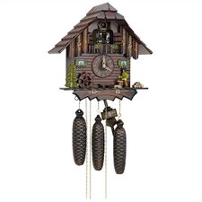 """12.5"""" 8-Day Movement Cuckoo Clock with Wood Chopper"""