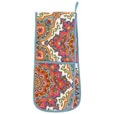 Moroccan Tiles Double Oven Glove