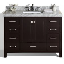 Malibu 49 Single Modern Bathroom Vanity Set by Pacific Collection