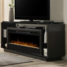 """David 74"""" TV Stand with Electric Fireplace"""