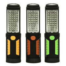 Super Bright Rotating 36 LED Worklight and Flashlight Combo