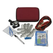 Car Emergency Roadside Assistance and First Aid Kit