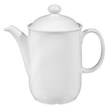 Compact White 1.4 L Coffee Pot