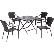 Orleans 5 Piece Dining Set by Hanover
