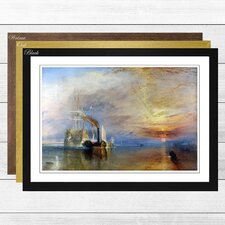 'The Fighting Temeraire' by J.M.W. Turner Framed Painting Print