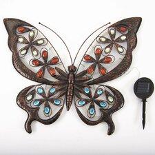 Wanddekoration Large Solar Butterfly