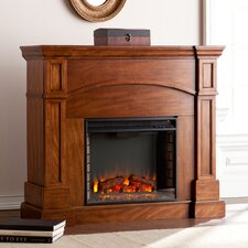 Tuscany Heights Convertible Electric Fireplace