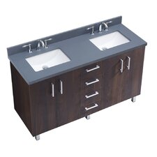 "IN Series 60"" Double Bathroom Vanity Set"