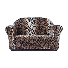 Roundy Faux Fur Childrens Sofa by Keet