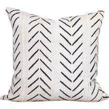 Chevron Arrow Print African Mud Cloth Pillow Cover
