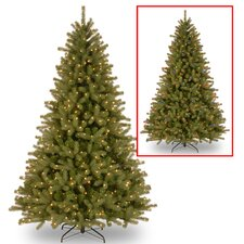 Lakewood 9' Green Spruce Artificial Christmas Tree with 900 Dual Color® LED Lights Includes Stand