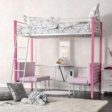 Bunk Bed with Cushions