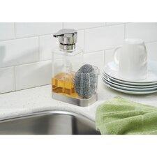 Bruschia Soap Dispenser Pump and Sponge Caddy