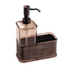 Twillo Plastic Soap Dispenser Pump and Sponge Caddy
