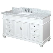 "Elizabeth 60"" Single Bathroom Vanity Set"