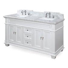 Elizabeth 60 Double Bathroom Vanity Set by Kitchen Bath Collection