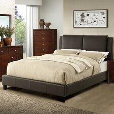 Alisa Queen Upholstered Platform Bed - A&J Homes Studio.