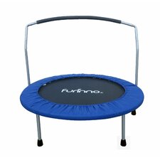 Trampoline with Handle Bar