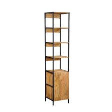 Open Plus Closed Storage Unit Standard Bookcase