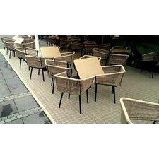 "Bergo 15"" x 15"" Polypropylene Loose Lay/Snap in Tiles in Cedar (Set of 14)"