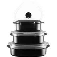 Calypso Basics 3 Container Food Storage Set (Set of 2)