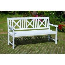 3-Sitzer Gartenbank aus Akazienholz