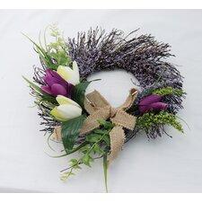 """12"""" Tulip Wreath"""