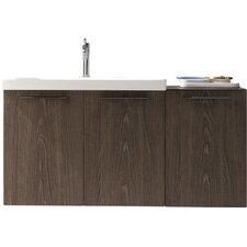 "Ekochic 42"" Single Modern Bathroom Vanity Set"