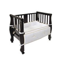 Sleigh Bed Co-Sleeper Bassinet